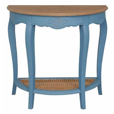 Madison Console Table Color: Antique Blue