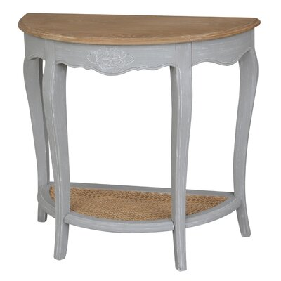 Madison Console Table Color: Antique Gray