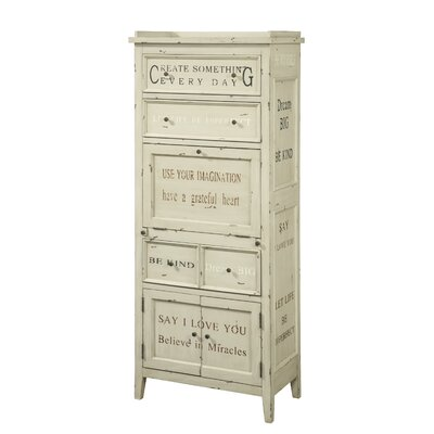 Luna 4 Drawer 3 Door Accent Cabinet