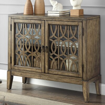 Rosehill 2 Door Accent Cabinet Color: Brown