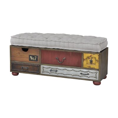 Rosaire Upholstered Storage Bench