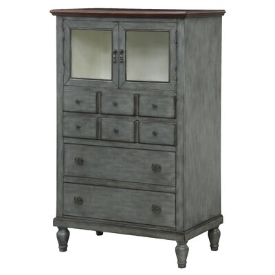 Arleen Pie 2 Door Accent Cabinet