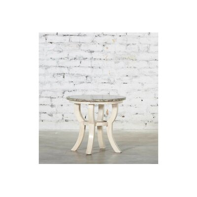Vanessa Wooden Accent Stool