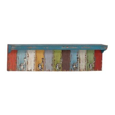 Peterkin Panel Wall Shelf with Hooks
