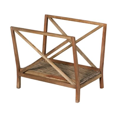 Behan Wooden Magazine Rack (Set of 2)