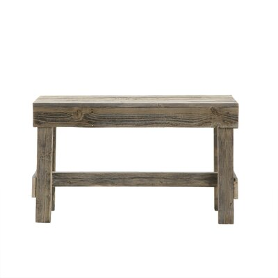 Marsh Wood Bench Color: Natural