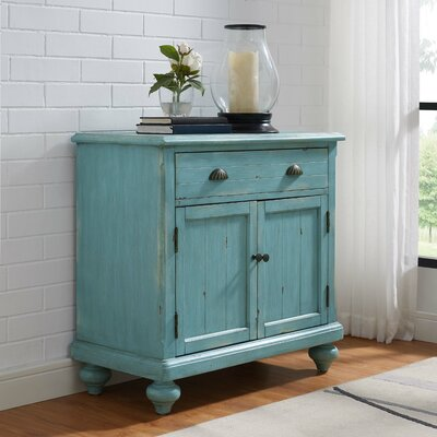 1 Drawer 2 Door Accent Cabinet Color: Robins Egg