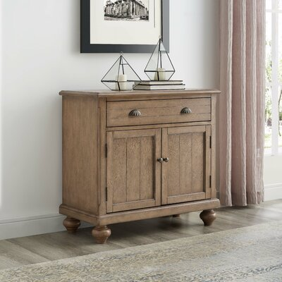 1 Drawer 2 Door Accent Cabinet Color: Natural