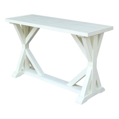 Philippine Console Table Color: Sea Shell