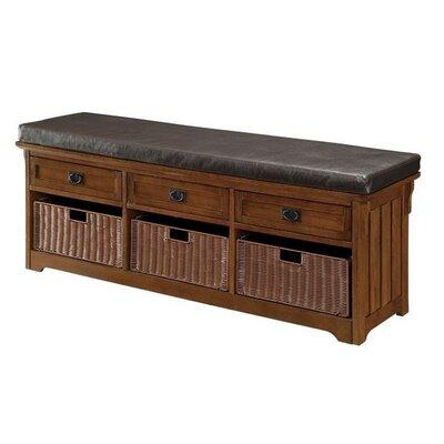 """Acquah Storage Entryway Bench Size: 23"""" H x 60"""" W x 15.25"""" D"""
