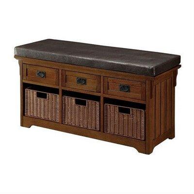 """Acquah Storage Entryway Bench Size: 23"""" H x 42"""" W x 15.35"""" D"""