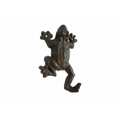 Wahlen Cast Iron Wall Hook Color: Dark Brown