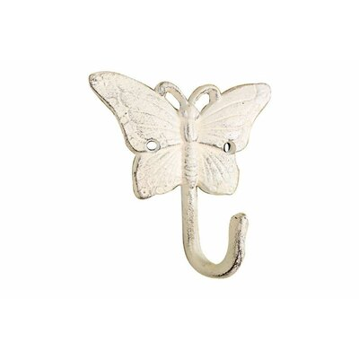 Malagar Cast Iron Wall Hook Color: Cream