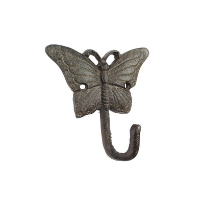 Malagar Cast Iron Wall Hook Color: Dark Brown