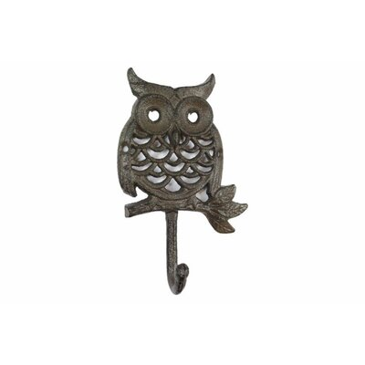 Ahern Cast Iron Wall Hook Color: Dark Brown