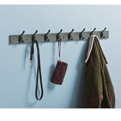 Esson Industrial Craftsman Wall Mounted Coat Rack