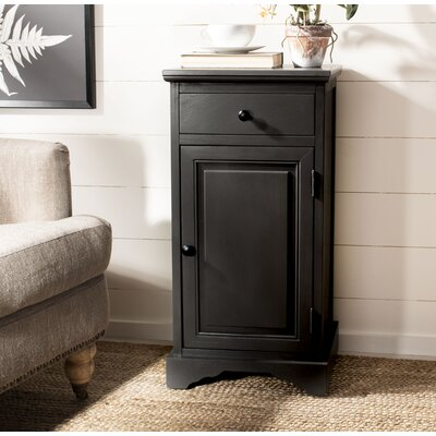 Martine 1 Drawer 1 Door Accent Cabinet Color: Grey