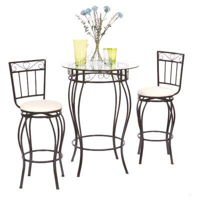 Davidson 3 Piece Pub Table Set