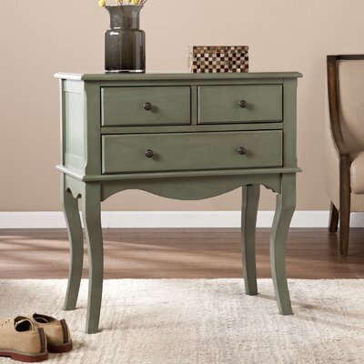 Boudreau 3 Drawer Accent Chest