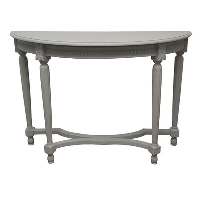 Vaughan Console Table Color: Gray Wash