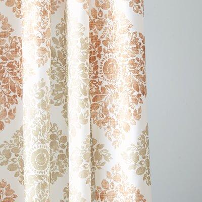 "Birch Lane Shower Curtain Color: Spice, Size: 72"" H x 72"" W"