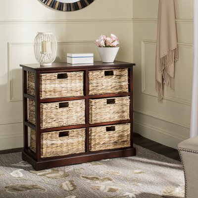 Clarion 6 Basket Storage Chest Color: Cherry