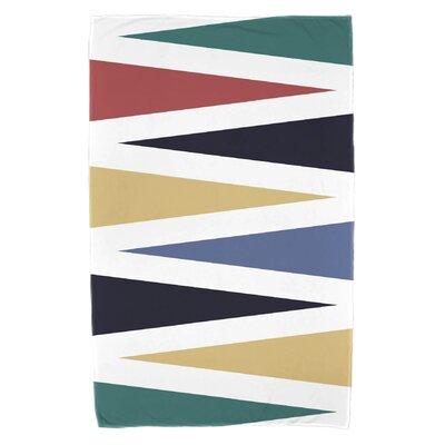 Bowman Backgammon Beach Towel Color: Navy Blue