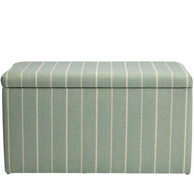 Evalyn Cotton Upholstered Storage Bench Color: Oasis