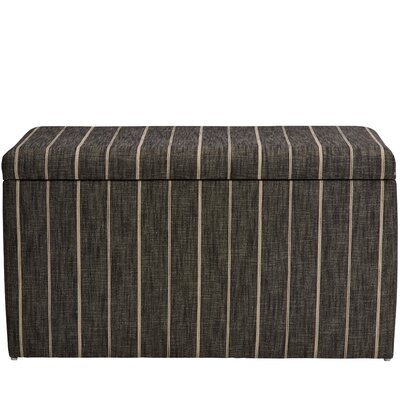 Evalyn Cotton Upholstered Storage Bench Color: Peppercorn