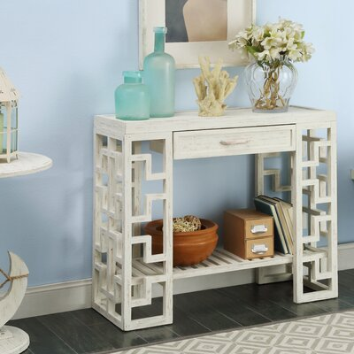 Neponset Console Table Color: Cream