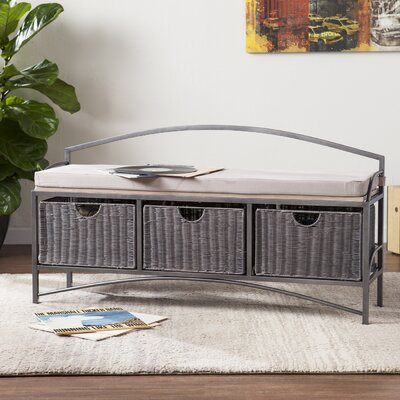 Cedarvale Storage Bench