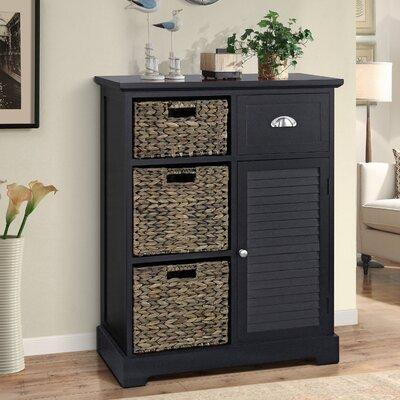 Fleming Storage 1 Door Accent Cabinet Color: Espresso