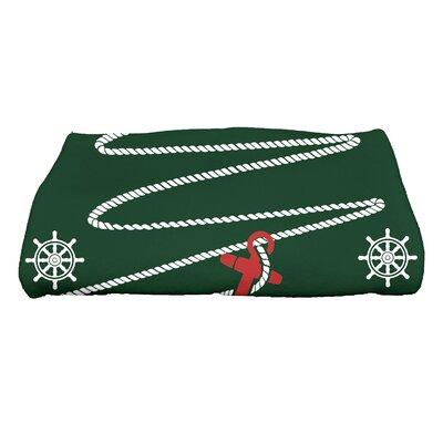 Pleasanton Anchor Bath Towel Color: Green