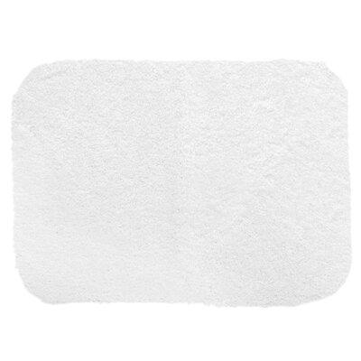 "Chatham Bath Mat Size: 60"" L x 24"" W, Color: White"