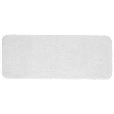 "Chatham Bath Mat Size: 24"" L x 17"" W, Color: White"