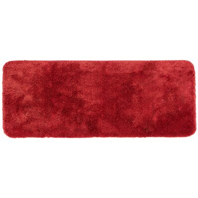 "Chatham Bath Mat Size: 24"" L x 17"" W, Color: Wine"