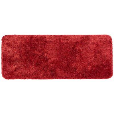 """Chatham Bath Mat Size: 34"""" L x 20"""" W, Color: Wine"""