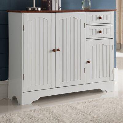 Giada Wood 3 Door Accent Cabinet