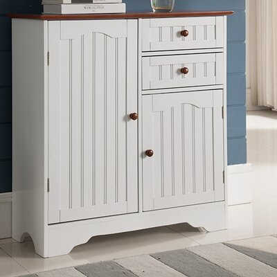 Emmaline Wood Storage 2 Door Accent Cabinet