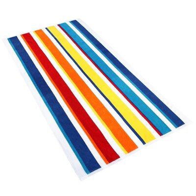 Kelsch 100% Cotton Beach Towel Color: Multi-Color