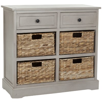 Sutherland 6 Drawer Chest Color: Vintage Gray