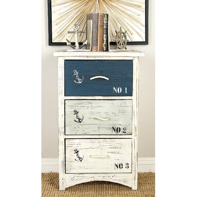 Waterview Nautica 3 Drawer Chest