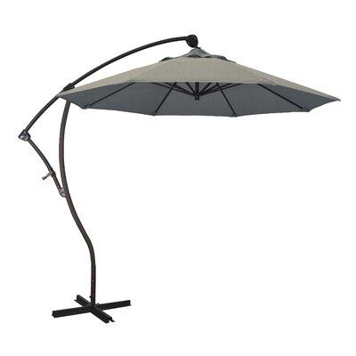 April 9' Cantilever Umbrella Fabric Color: Sunbrella - Spectrum Dove