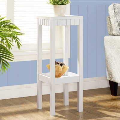 Blaze Etagere Plant Stand Color: White
