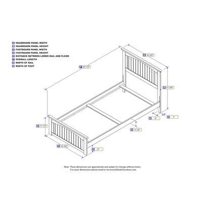 Graham Platform Bed Size: Twin XL