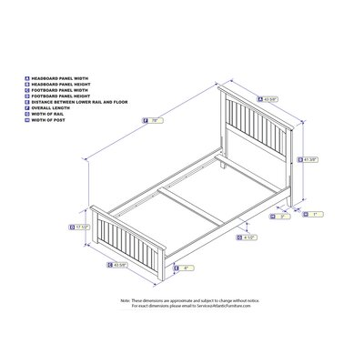 Graham Platform Bed Size: Twin