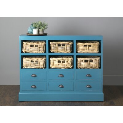 Verlene 6 Drawer Storage Accent Chest Color: Sky Blue