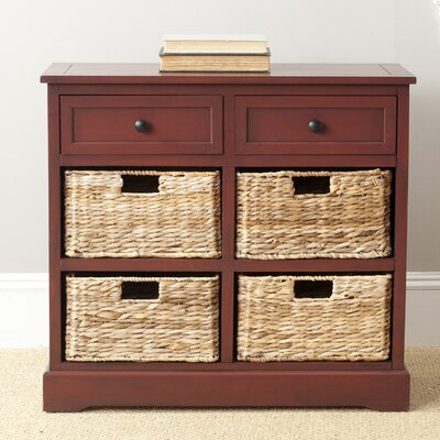 Sutherland 6 Drawer Chest Color: Red