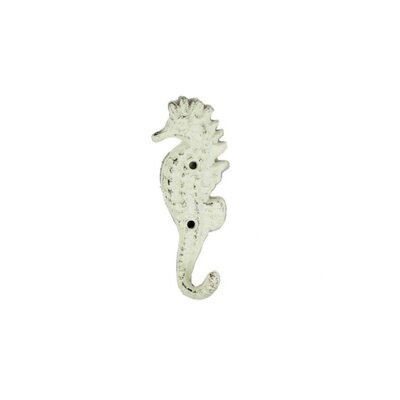 Galla Seahorse Wall Hook Color: Whitewashed