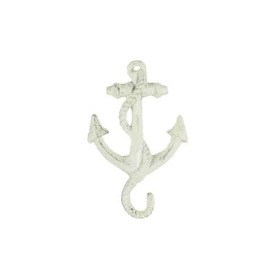 Veranda Wall Hook Color: Whitewashed